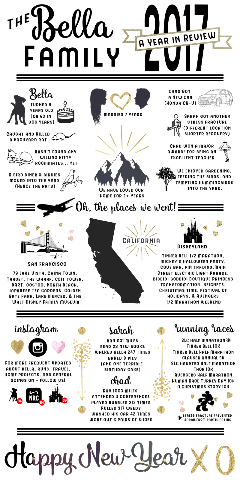 2017 Year in Review Infographic